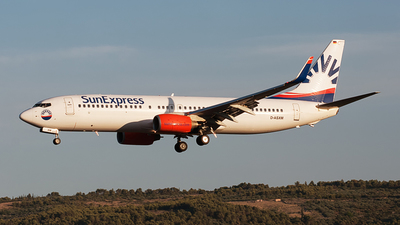 D-ASXM - Boeing 737-8EH - SunExpress Germany