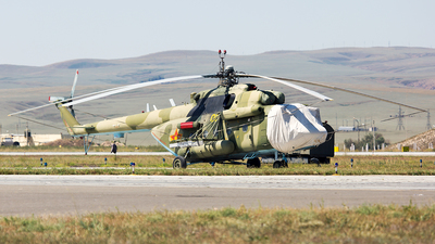 08 - Mil Mi-8AMT Hip - Kazakhstan - Air Force