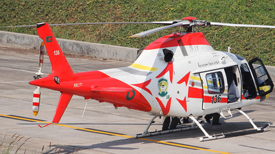 136 - Agusta-Westland AW-119Kx - Bangladesh - Air Force