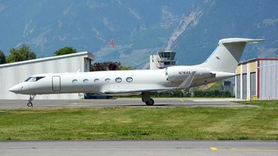 N716AS - Gulfstream G-V - Private