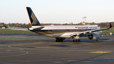 9V-SMD - Airbus A350-941 - Singapore Airlines