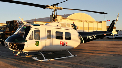 N125FC - Bell UH-1V Iroquois - United States - Florida Division of Forestry