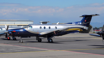 OH-JEM - Pilatus PC-12/47E - Fly 7 Executive Aviation