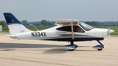 N334X - Tecnam P2008 - Private