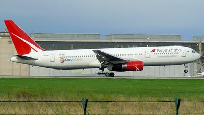 VP-BRE - Boeing 767-3W0(ER) - Royal Flight