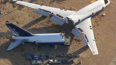 N198UA - Boeing 747-422 - Scaled Composites