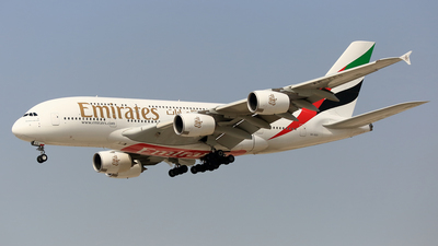 A6-EES - Airbus A380-861 - Emirates