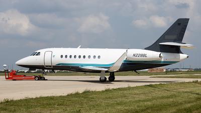 N228BL - Dassault Falcon 2000EX - Private