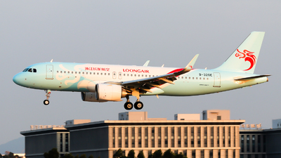 A picture of B320E - Airbus A320251N - Loong Air - © Jackson Zheng