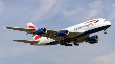 G-XLED - Airbus A380-841 - British Airways