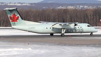 A picture of CGTAT - De Havilland Canada Dash 8300 - Air Canada - © Guy Langlois