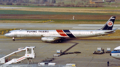N4867T - Douglas DC-8-73(CF) - Flying Tigers