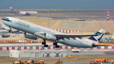B-LAG - Airbus A330-342 - Cathay Pacific Airways