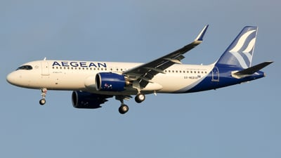 SX-NED - Airbus A320-271N - Aegean Airlines