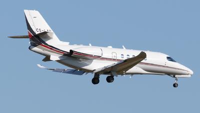 A picture of CSLAU - Cessna 680A Citation Latitude - NetJets - © George Chaidaris