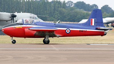 G-BKOU - Hunting Percival Jet Provost T.3A - Private