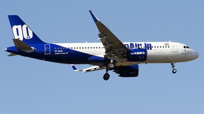 VT-WJR - Airbus A320-271N - Go Air