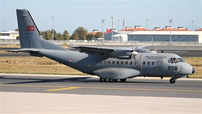 93-058 - CASA CN-235M-100 - Turkey - Air Force