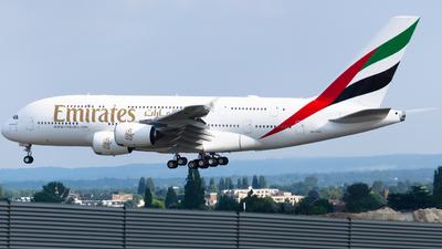 A6-EVO - Airbus A380-842 - Emirates