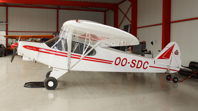 OO-SDC - Piper PA-18-150 Super Cub - Private