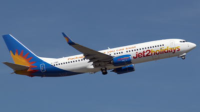 A picture of GJZBO - Boeing 7378MG - Jet2 - © Papp Sándor
