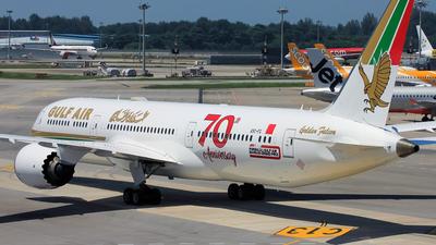 A9C-FG - Boeing 787-9 Dreamliner - Gulf Air