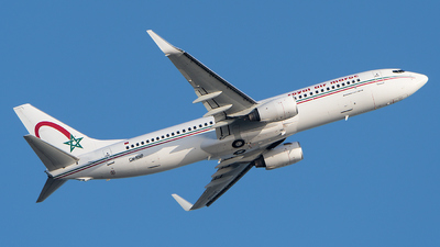 A picture of CNRNP - Boeing 7378B6 - Royal Air Maroc - © Gianluca Mantellini