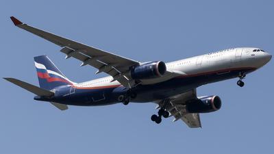 VQ-BBF - Airbus A330-243 - Aeroflot