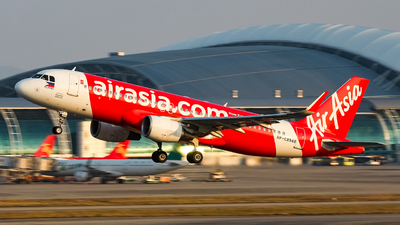 A picture of RPC8948 - Airbus A320216 - AirAsia - © Chingwang Lee