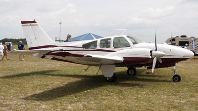 N407T - Beechcraft 95-C55 Baron - Private