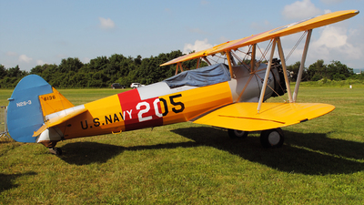 G-BRUJ - Boeing A75N1 Stearman - Private