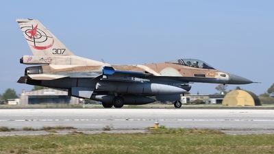 307 - General Dynamics F-16C Barak   - Israel - Air Force