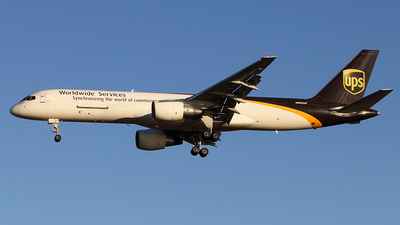 N405UP - Boeing 757-24A(PF) - United Parcel Service (UPS)