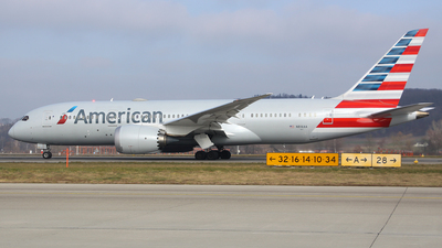 A picture of N816AA - Boeing 7878 Dreamliner - American Airlines - © Brian T Richards