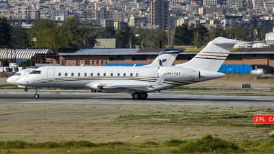 A picture of A6CAG - Bombardier Global Express -  - © Mohamadreza Zeinloo
