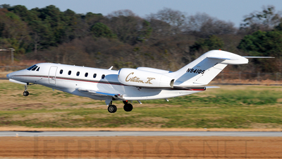 A picture of N941QS - Cessna 750 Citation X - NetJets - © Agustin Anaya