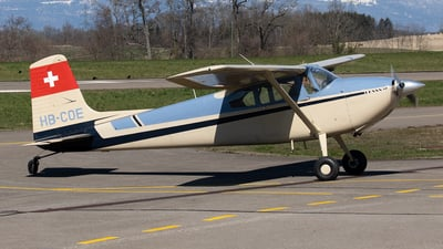 HB-COE - Cessna 180 Skywagon - Private
