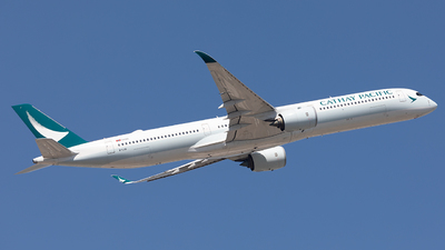 B-LXB - Airbus A350-1041 - Cathay Pacific Airways