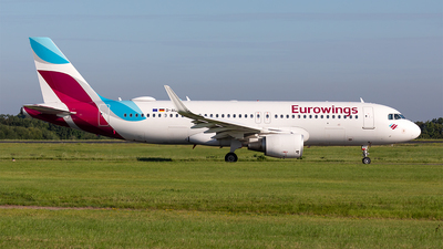 A picture of DAIZV - Airbus A320214 - Eurowings - © Paul Buchröder