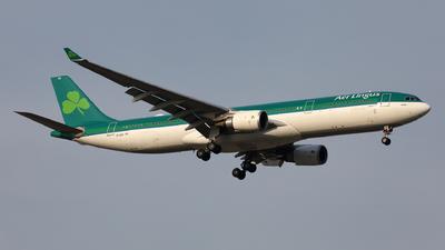 A picture of EIDUZ - Airbus A330302 - Aer Lingus - © Liu Yonggang