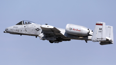 80-0265 - Fairchild A-10C Thunderbolt II - United States - US Air Force (USAF)