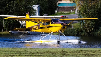 A picture of N22CB - Cessna A185F Skywagon - [18502188] - © C. v. Grinsven