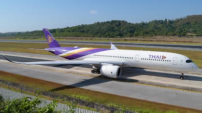 HS-THJ - Airbus A350-941 - Thai Airways International