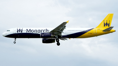 G-ZBAL - Airbus A321-231 - Monarch Airlines