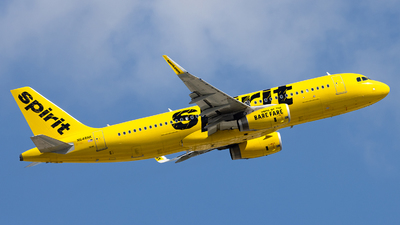 A picture of N648NK - Airbus A320232 - Spirit Airlines - © Sean Brink