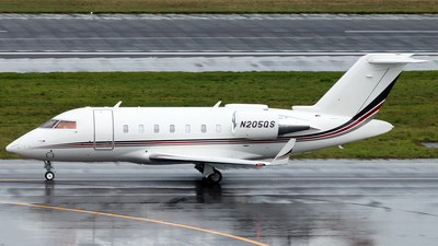 N205QS - Bombardier CL-600-2B16 Challenger 650 - NetJets Aviation