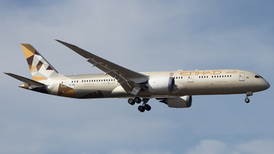A picture of A6BNA - Boeing 7879 Dreamliner - Etihad Airways - © Guillem Rubio