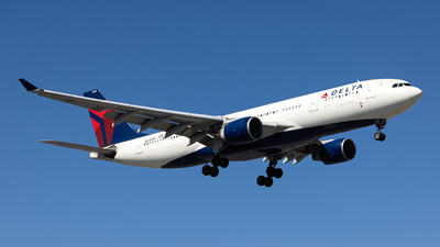 A picture of N858NW - Airbus A330223 - Delta Air Lines - © JinZi