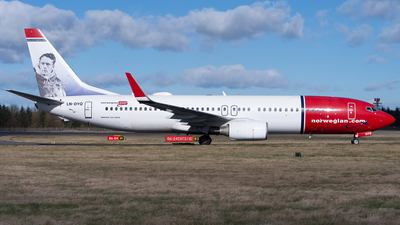 LN-DYQ - Boeing 737-8JP - Norwegian