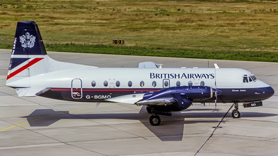 G-BGMO - Hawker Siddeley HS-748 Series 2A - British Airways